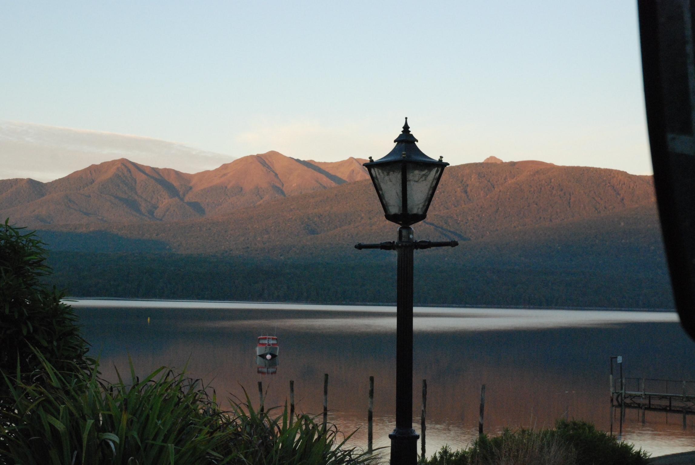 Ruhiger Moment am Lake Te Anau